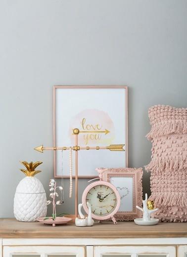 Warm Design Seramik Kuğu Yüzük Tutucusu Renkli